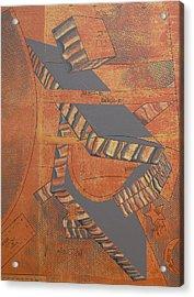 Patterns Series Number Three Acrylic Print by Sonja Olson