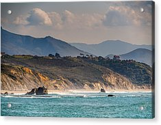 Acrylic Print featuring the photograph Pays Basque by Thierry Bouriat