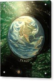 Peace Acrylic Print by Kenneth LePoidevin