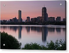 Peaceful Boston Acrylic Print by Juergen Roth