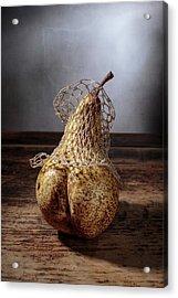 Pear Acrylic Print by Nailia Schwarz
