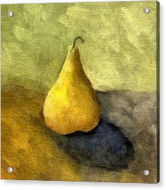Pear Still Life Acrylic Print by Michelle Calkins