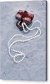 Pearl Necklace Acrylic Print
