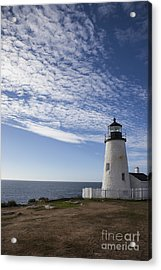 Pemaquid Lighthouse Acrylic Print by Timothy Johnson