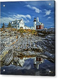 Pemaquid Reflections Acrylic Print