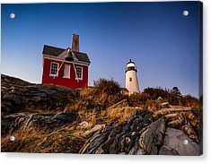 Acrylic Print featuring the photograph Pemaquid Sky by Robert Clifford