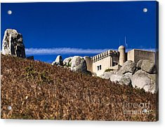 Peninha In Sintra Natural Park Acrylic Print by Andre Goncalves