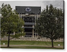 Penn State Beaver Stadium  Acrylic Print by John McGraw