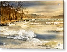 Perfect Storm Acrylic Print by John Poon
