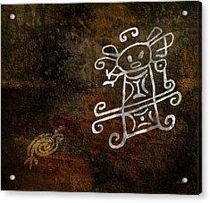 Petroglyph 1 Acrylic Print