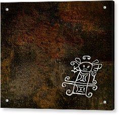 Petroglyph 2 Acrylic Print