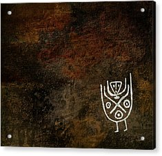 Petroglyph 3 Acrylic Print