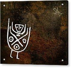 Petroglyph 4 Acrylic Print