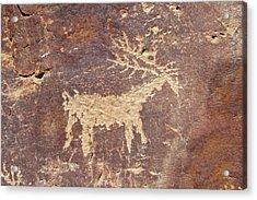 Petroglyph - Fremont Indian Acrylic Print