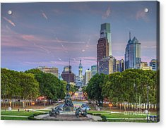 Philadelphia Cityscape Acrylic Print