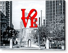 Philadelphia Love 2005 Fusion Acrylic Print