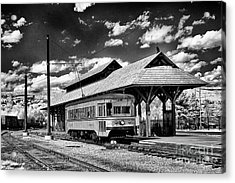 Acrylic Print featuring the photograph Philadelphia Trolley by Paul W Faust - Impressions of Light