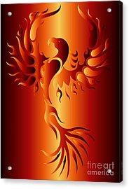 Phoenix Fire Acrylic Print