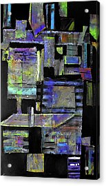 Pieces I Acrylic Print by Ralph Levesque