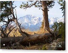 Pikes Peak And Trail To Bald Mountain Acrylic Print