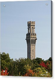 Pilgrim Monument Provincetown Massachusetts Acrylic Print by Michelle Wiarda