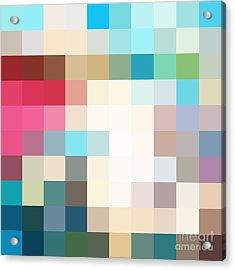 Pixel Art 3 Acrylic Print