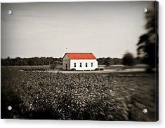 Plantation Church Acrylic Print by Scott Pellegrin