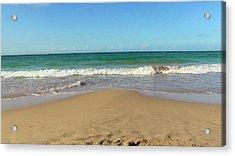 Playa El Ultimo Trolly Acrylic Print