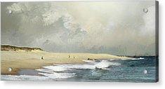 Plum Island Sky Acrylic Print