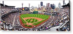 Pnc Park Pittsburgh Pennsylvania Acrylic Print by Amy Cicconi