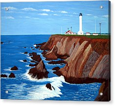 Point Arena Light Station Acrylic Print