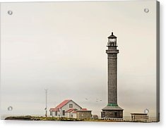 Point Arena Lighthouse Ca Acrylic Print by Christine Till