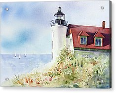 Point Betsie Acrylic Print by Bobbi Price