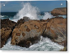 Point Lobos' Concretions Acrylic Print
