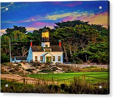 Point Pinos Lighthouse Acrylic Print