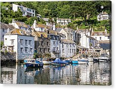 Polperro, Cornwall Acrylic Print