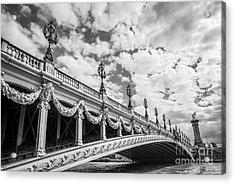 Pont Alexandre IIi In Paris Acrylic Print