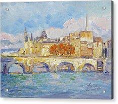 Pont Neuf, Paris Acrylic Print