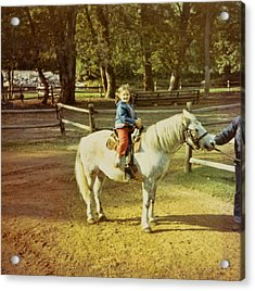 Pony Ride Acrylic Print by JAMART Photography