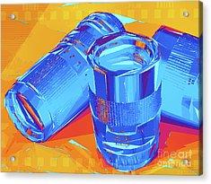 Pop Art Camera Lenses Acrylic Print