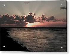 Por-do-sol Acrylic Print by Marcos Paiva