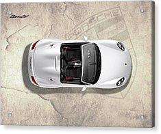 Porsche Boxster Acrylic Print by Mark Rogan