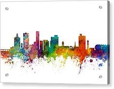 Port Elizabeth South Africa Skyline Acrylic Print