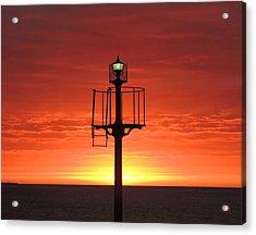 Port Hughes Lookout Acrylic Print by Linda Hollis