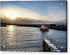 Portrush Rnli Lifeboat Acrylic Print