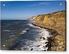 Portuguese Coast Acrylic Print by Andre Goncalves