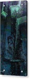 Poseidon Acrylic Print by Ken Walker