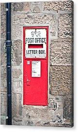 Post Box Acrylic Print by Tom Gowanlock