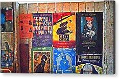 Poster Board Acrylic Print