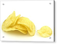 Potato Chips Acrylic Print